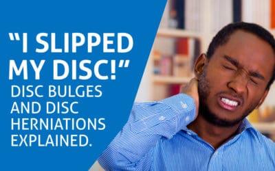I Slipped my Disc….!