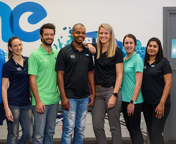 HG physiotherapists durban HG Physio team One sports and wellness