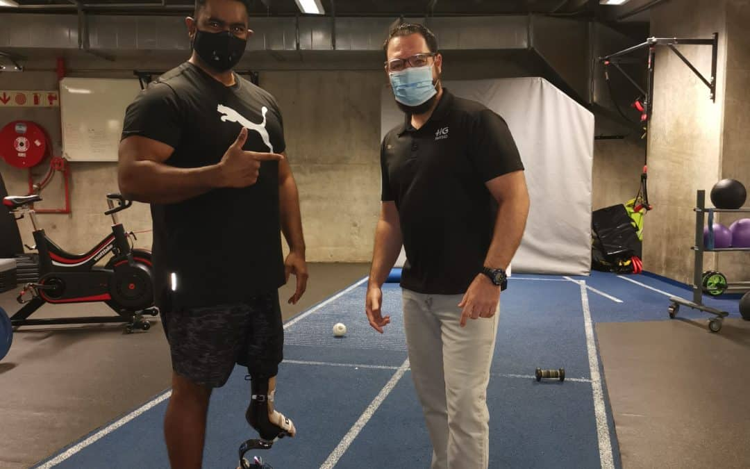 Athlete care during a pandemic